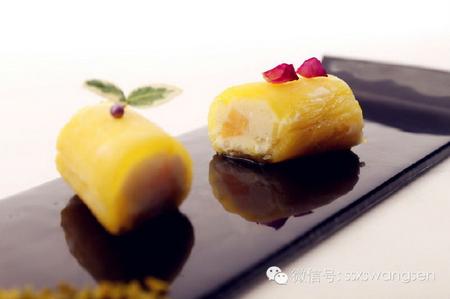 菠萝芒果香草饭卷的制作教程