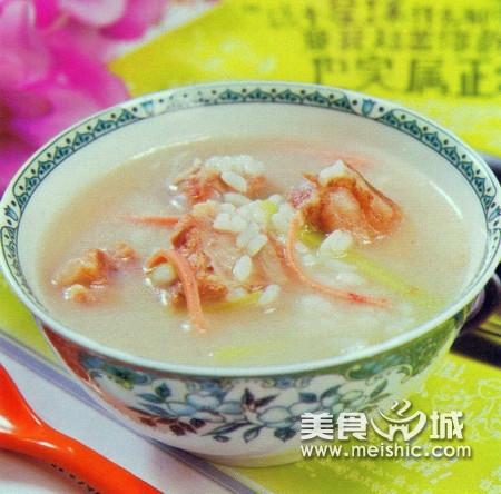 羊骨大米粥
