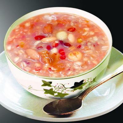 荔枝莲子粥