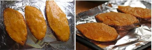 奶香烤红薯怎么做