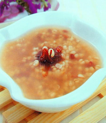 玉米须薏仁粥