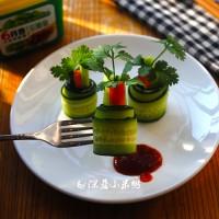 如何制作清爽的黄瓜卷
