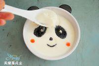 熊猫姜汁撞奶的制作教程