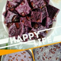 紫薯红枣糕如何制作