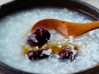 芪枣糯米粥