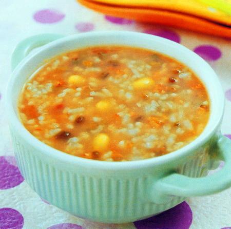 三豆粳米粥