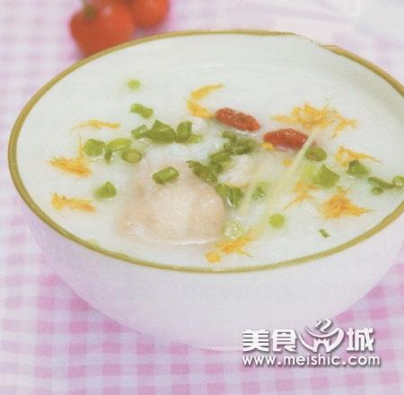 鳜鱼菊花粥
