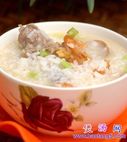 花蛤排骨粥的做法