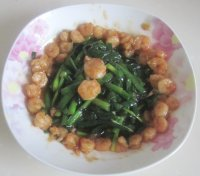 韭菜炒虾仁的做法