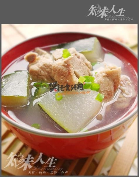 龙骨冬瓜瑶柱汤的做法