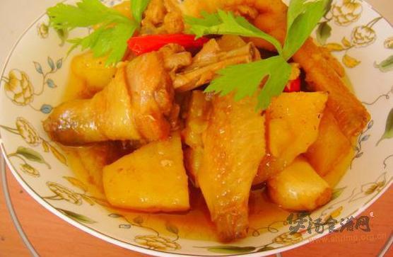 香辣土豆鸡的做法
