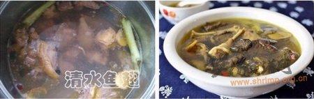 野山菇柴鸡汤的做法
