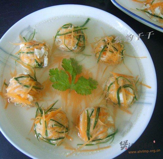 绣球汤的做法
