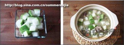 排骨冬瓜薏仁绿豆汤的做法
