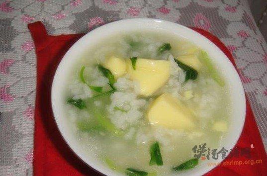 豆腐菜粥的做法
