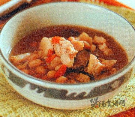 花生兔肉汤的做法