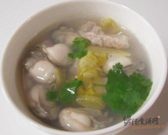 蚝仔酸菜汤的做法