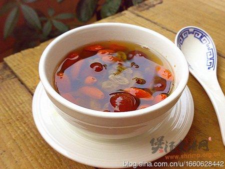 红杞葡萄蜂蜜茶的做法