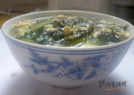 紫菜黄瓜汤的做法