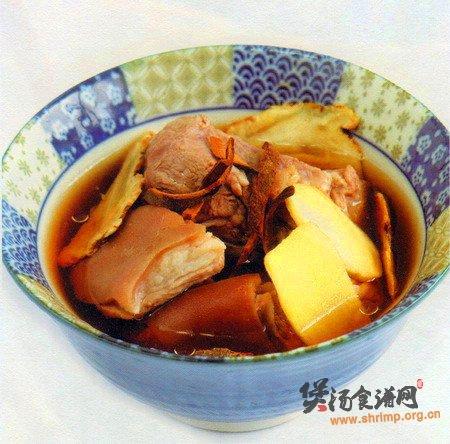 陈皮生姜羊肉汤的做法