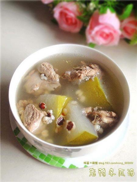 老鸭冬瓜汤的做法