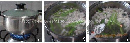 芦笋白玉菇滚猪骨汤的做法