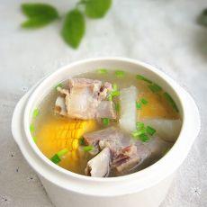 腊骨萝卜汤的做法