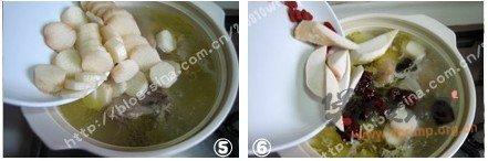 山药土鸡煨汤的做法