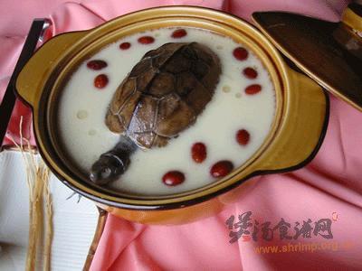 百合枣龟汤的做法