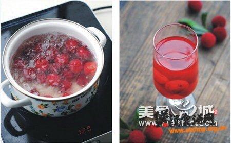 酸甜杨梅汁的做法