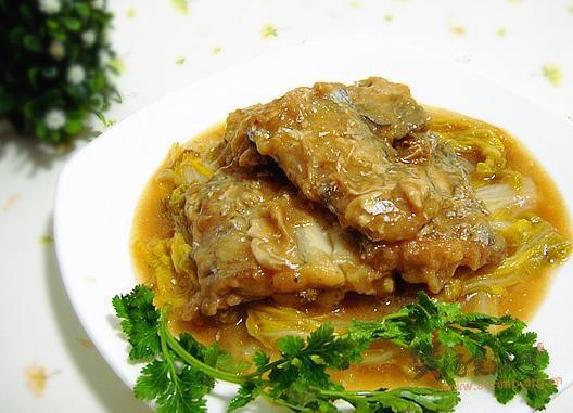 刀鱼炖白菜的做法