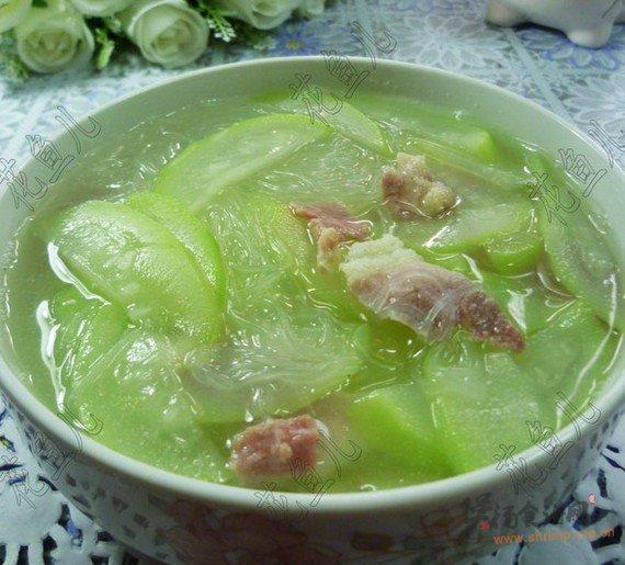 夜开花咸肉粉丝汤的做法