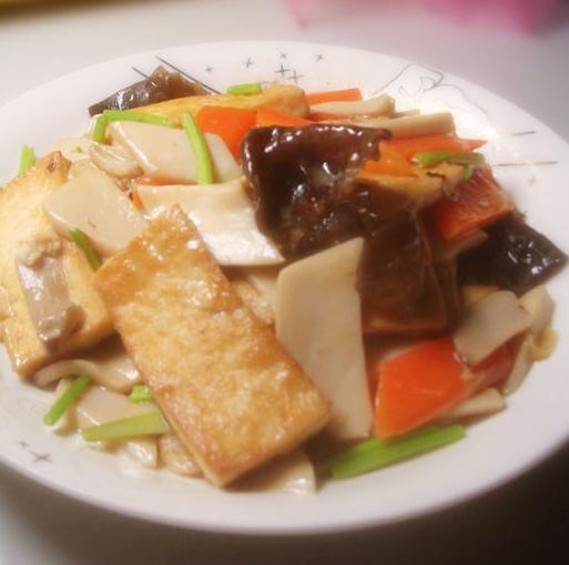 杏鲍菇炖豆腐的做法