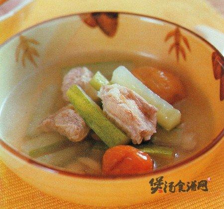 黄瓜扁豆排骨汤的做法