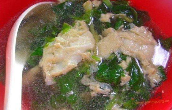 芹菜叶蛋花汤的做法