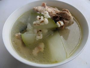 鸭腿冬瓜薏米汤的做法