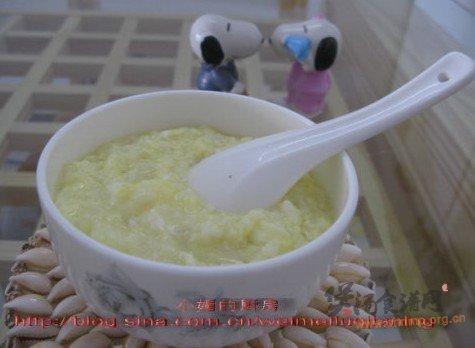 鸡蛋粥的做法