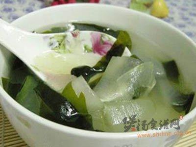荷叶冬瓜汤的做法