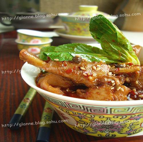 泡椒炖鸭肉的做法