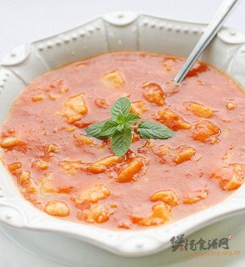 番茄鳕鱼浓汤的做法