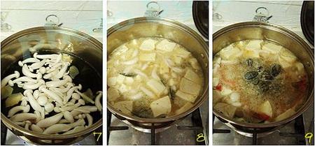 鲜虾味噌汤的做法的做法