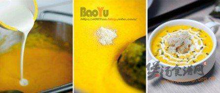 胡萝卜奶油浓汤的做法