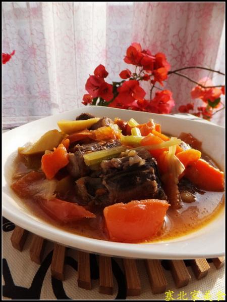 番茄牛尾煲的做法