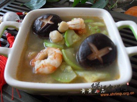 时蔬海鲜汤的做法