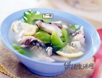 鲤鱼苦瓜汤的做法