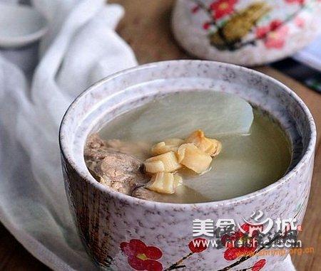 萝卜瑶柱猪骨汤的做法