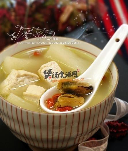 淡菜山药滋补汤的做法