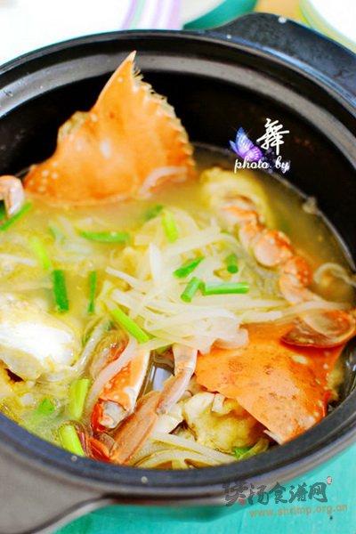 螃蟹萝卜煲的做法