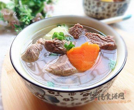 (图)清炖牛肉汤的做法