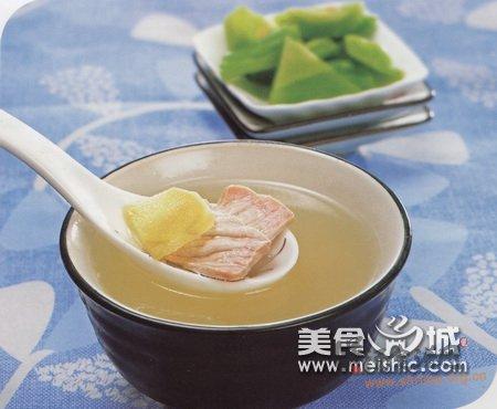 苦瓜滚肉片汤怎么做的做法